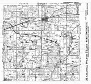 White Oak Township, Rosehill, Tioga, Wright, Mahaska County 1949
